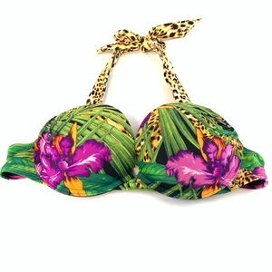 Victorias Secret Bikini Top 34A Bombshell Black